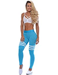 Thigh-High Leggings - Turquoise