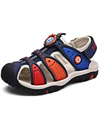 Boy's Girl's Summer Outdoor Breathable Athletic Bump Toe Strap Sport Sandals (Toddler/Little Kid/Big Kid)