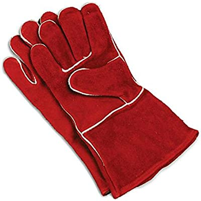 Click for Imperial KK0159 Cowhide Leather Stove Pipe & Fireplace Gloves Universal Size