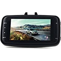 Foresightrade GS8000L Car DVR HDMI Camera Video Recorder Dash Cam G-sensor with 2.7-Inch Full HD 1080P Screen(Black)