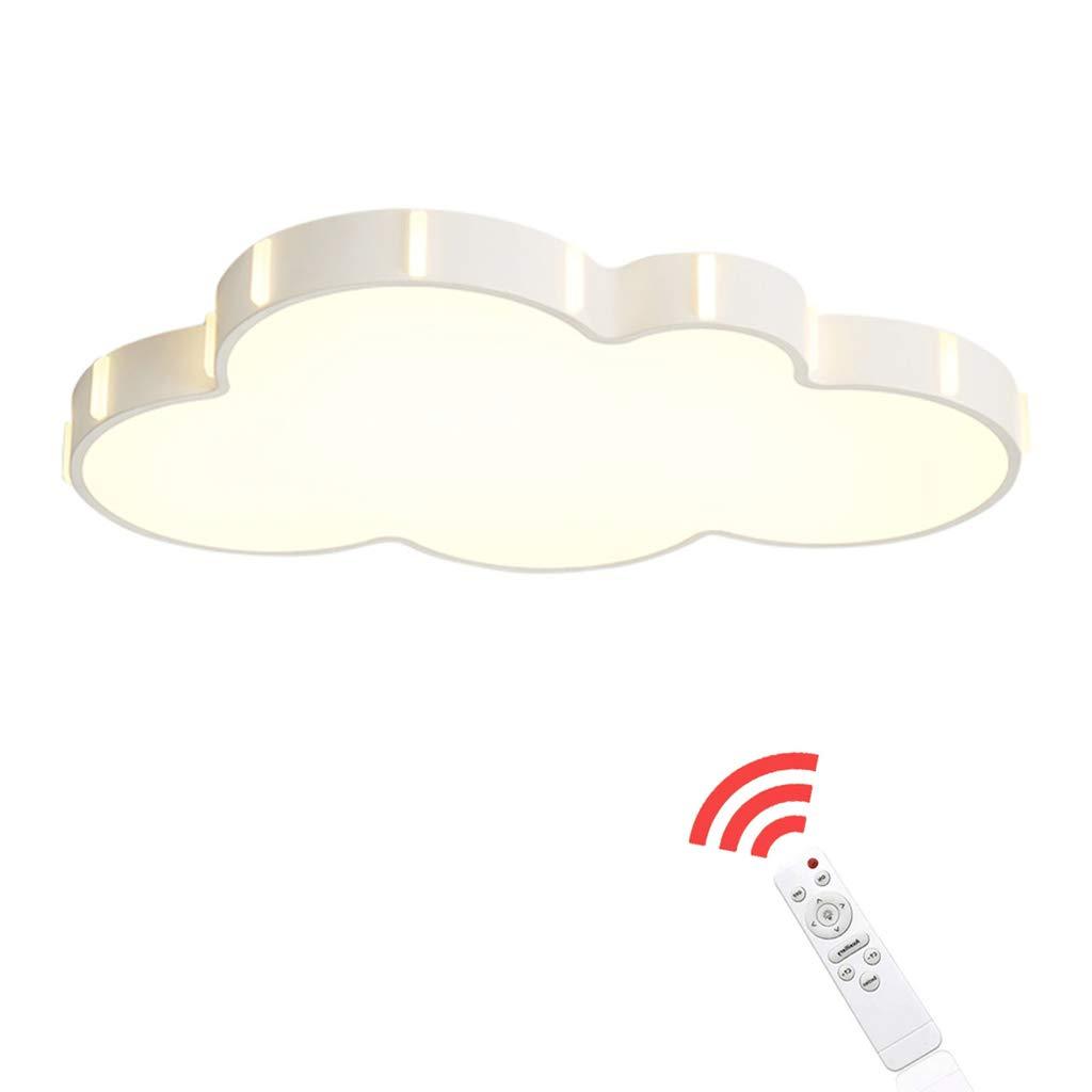 JINWELL Deckenleuchte LED Klassenzimmer Deckenleuchte LED Deckenleuchte LED dimmbare Deckenleuchte ultradünne LED-Decke Moderne minimalistische LED Wohnzimmer Deckenleuchte Wolke Zimmer Kinderzimmer A