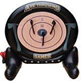 MD Sports 2 in 1 Axe Throwing and Dartboard
