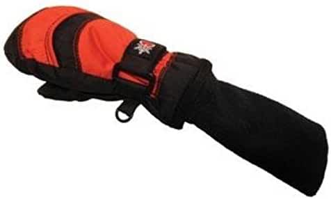 Snowstoppers Mitten Xl Blk/red