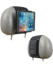 Auto Mount Houder, TFY Auto Hoofdsteun Mount Houder voor telefoons en tabletten, Compatibel met 5 tot 10.5 Inch Screens Apparaten