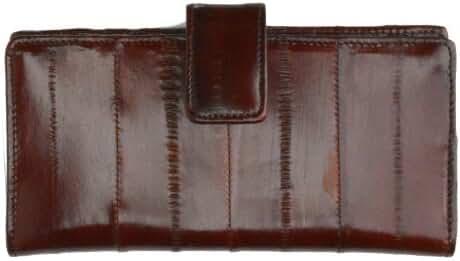 Eel Skin Credit Card Wallet New Sleek Design