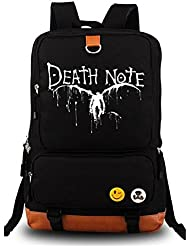 Siawasey® Death Note Anime Light Yagami Cosplay Canvas Shoulder Bag Backpack School Bag