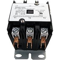 DP401203 Genuine OEM Supco Contactor 40A 120V 3 Pole