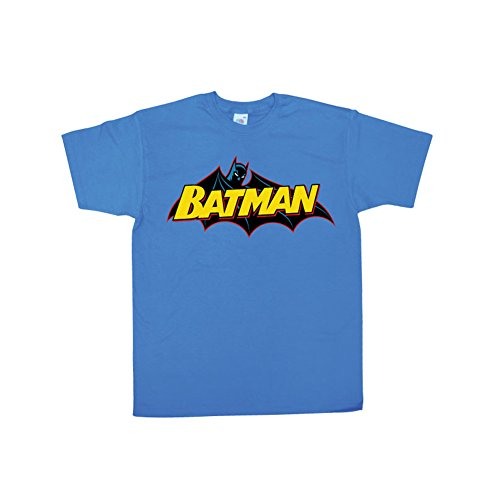 Batman+Retro+Shirts Products : Officially Licensed Merchandise Batman Batman Retro Logo T-Shirt (Blue)