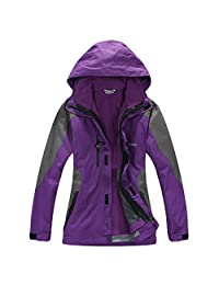 LANBAOSI Women's Skiing Snow Outerwear Waterproof Breathable Winter Jacket