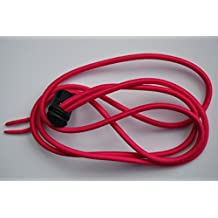 SoCal Swimming Bungee Goggle Strap 3.22mm thick (red) or (magenta)