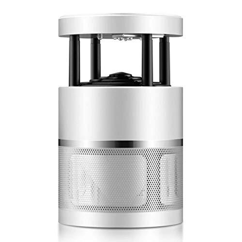 George FF] taburetes Lampara Antimosquitos Lampara Mosquitos USB Electronic 360 ° LED Luz De Onda Guiada Bug Mosquito Lamp No Toxicos Sin Radiacion Sin Quimicos 235 * 155mm (Color : White)