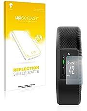 upscreen Antireflecterende Schermbeschermer compatibel met Garmin Vivosport Anti-Glare Screen protector, mat, ontspiegelend, antikras