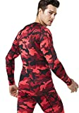 TSLA Men's Cool Dry Fit Long Sleeve Compression