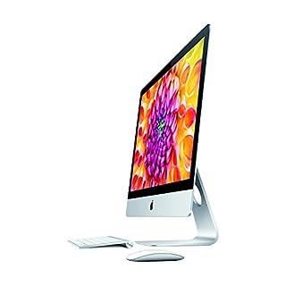 Apple iMac ME089LL/A Intel Core i5-4670 X4 3.4GHz 8GB 1TB 27in, Silver (Renewed)