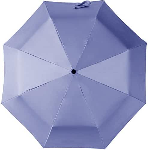 NIELLO Lightweight Sun Umbrella UPF 50+ UV Protection,Automatic Travel Windproof Rain Umbrella