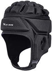 BESPORTBLE Padded Headgear Rugby Helmet Soccer Scrum Cap Football Headguard Protective Gear