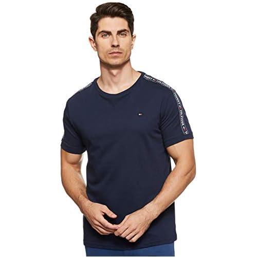 chollos oferta descuentos barato Tommy Hilfiger RN tee SS Camiseta Azul Navy Blazer 416 Medium para Hombre