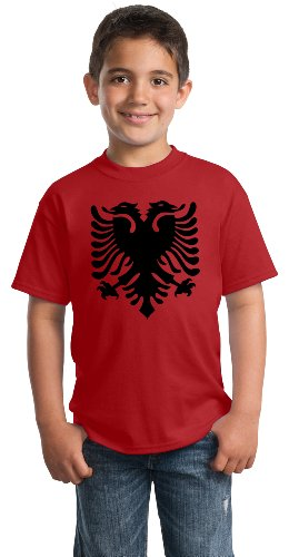 Albanian National Flag | Albania Pride Eagle Youth T-shirt
