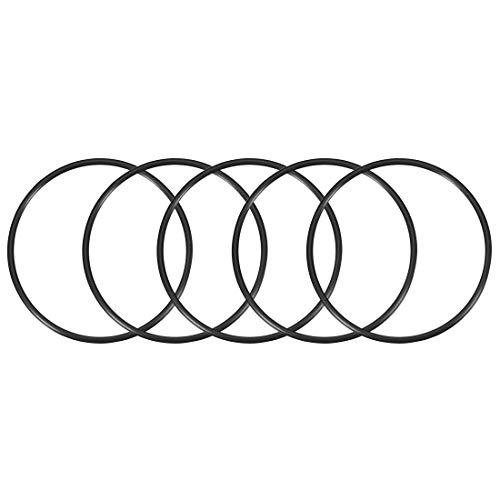 5 O-rings 107mm x 115mm x 4mm para bombas y filtros de agua