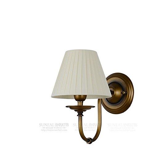 HRCxue Nachttischlampe einzigen einfachen Garten Wohnzimmer Schlafzimmer Beleuchtung Gang Treppe Lampe A3 30  28cm