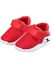 Kids Boys Girls Sweat-Resistant Mesh Casual Running Sneakers Outdoor Sport Shoes (Toddler/