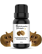 Pumpkin Delight Premium Quality Fragrance Oil 15ml – Suitable for Gel Candles, Soap, Candles/Incense, Skin and Hair Care – Exquisite and Intense (15ml) (Pumpkin Delight)
