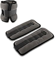Yaesport Ankle/Wrist Weights (1 Pair) with Adjustable Strap for Fitness, Exercise, Walking, Running, Jogging,