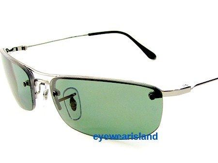 0567dcfde05 ... sale rayban rb 3174 quotsidestreetquot sunglasses gunmetal polarized  green c71db 6fb2c