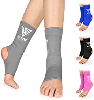 WYOX Ankle Wraps Support Boxing Gear for Men Women Muay Thai Ankle Support Kickboxing Wraps Gym Ankle Support