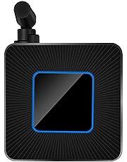 Riiai 2.4G/5G Wifi Dual-Band Mobiele Telefoon Draadloos Hetzelfde Schermapparaat, Ondersteunt HD/AV Input Interface, voor Thuisgebruik & Kantoor
