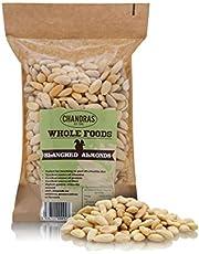 Chandra Whole Foods - Geblancheerde Amandelen