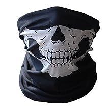 Change Bicycle Ski Skull Half Face Mask Ghost Scarf Multi Use Neck Warmer Cod