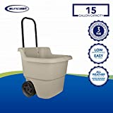 Suncast Resin 15.5 Gallon Multi-Purpose Cart with
