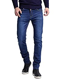 Men's Jeans New Fashion Men Skinny Jeans Slim Straight High Elasticity Feet Jeans