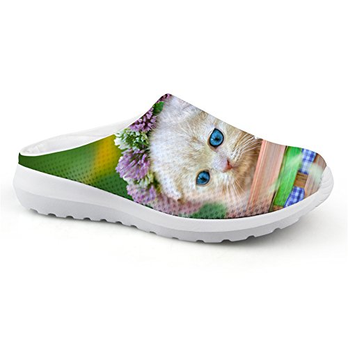 buy online e2021 f58c5 doginthehole Backless Backless Backless Lazy Loafers Flats for Ladies Slip  On Mules Shoes Walking Slipper Parent