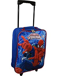 "Spiderman 15"" Collapsible Wheeled Pilot Case - Rolling Luggage ..."