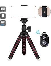 Mini TréPied Flexible, Trepied Portable, Adapte Aux CaméRas NuméRiques, Aux Smartphones, Aux Appareils Photos