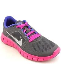 Girls Free Run 3 (GS) Running Shoes #512098-004