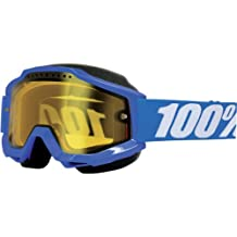 100% unisex-adult Goggle (Blue/Yellow,One Size) (ACCURI SNOW ACC SNOW Blue Yellow)