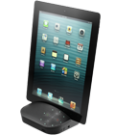 Device stand provides second-screen versatility