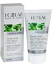 EO Laboratorie Cedar & Karite Men s Natural & Organic Shaving Cream 150 ml
