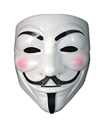 Boolavard TM V For Vendetta Anonymous Guy Fawkes The Mask Halloween Cosplay Masks