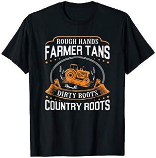 ⭐️⭐️⭐️ Rough Hands Farmer Tshirt | Farmer Tans Dirty Boots Country Need Funny Short/Long Sleeve Shirt/Hoodie