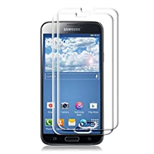 2x kwmobile Screen protector tempered glass for Samsung Galaxy S5 / S5 Neo / S5 LTE+ / S5 Duos in crystal clear - Premium quality