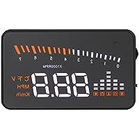 KKmoon Universal Car HUD Head Up Display KM/h & MPH Speeding Warning Windshield Project System