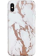 Oihxse Compatible para iPhone 6/iPhone 6S Funda de Mármol Cristal Patrón Suave Silicona TPU Flexible Gel Protectora Carcasa Ultra Fina Anti Choque Protección Cubierta Caja (Arbol)