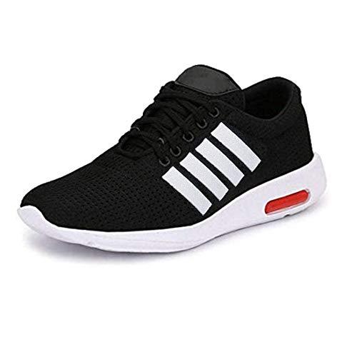 SWIGGY Men Running Sports & Outdoor Shoes (Black)
