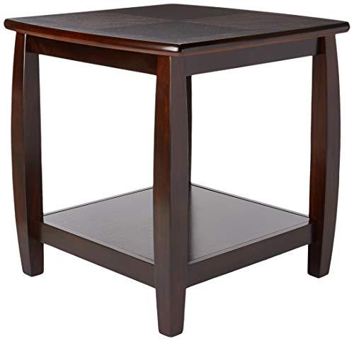 Table with bottom shelf