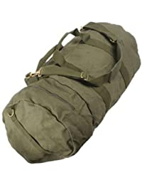 Olive Drab - Military Double-Ender Sports Shoulder Bag (Cotton Canvas)
