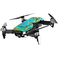 MightySkins Skin for DJI Mavic Air Drone - Teal Marble | Min Coverage Protective, Durable, and Unique Vinyl Decal wrap cover | Easy To Apply, Remove, and Change Styles | Made in the USA